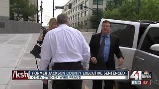 Former Jackson County Executive sentenced on federal charge