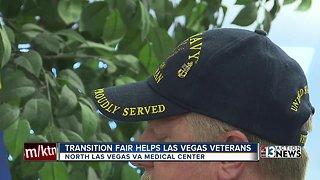 Transition fair for veterans in Las Vegas