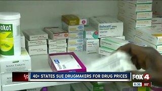 Several states ban together to sue drug makers over drug prices
