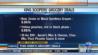 This week's grocery deals