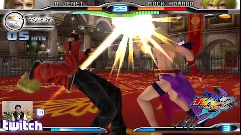 (PS2) KOF Maximum Impact 2 - 26 - B. Jenet - Lv Gamer
