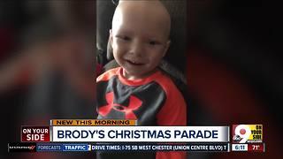 Brody's Christmas parade