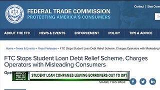 Student loan companies leaving borrowers out to dry