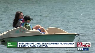 Discussing Canceled Summer Plans and Finding Alternatives