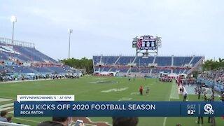 FAU kicks off 2020 football season