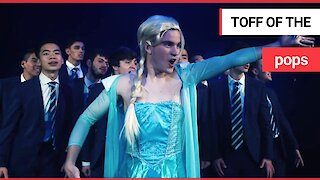 Oxford students have recorded hilarious music video - from FROZEN