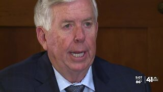 Gov. Mike Parson weighs in on KCPD funding lawsuit