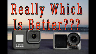 $200 DJI Osmo Action Versus $300 GoPro Hero 8 Black In The Rain