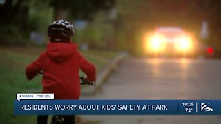 Residents worry about kids' safety at park