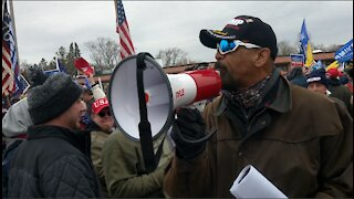 Defend your vote rally lead by Sheriff David Clarke