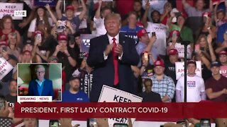 President Trump and first lady test positive for the coronavirus
