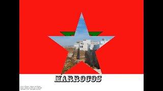 Bandeiras e fotos dos países do mundo: Marrocos [Frases e Poemas]