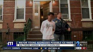 Baltimore Mayor Jack Young addresses possible ICE raids