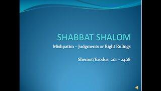 Midrash on Torah Portion Mishpatim, 2/13/2021