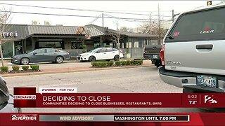 Broken Arrow also closes bars, dine-in restaurants in COVID-19 fight