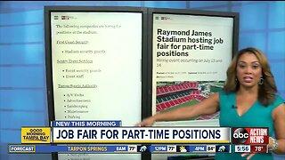 Raymond James Stadium hosting job fair for part-time positions