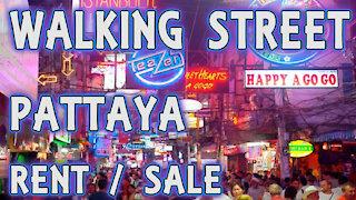 walking street 2020 / 2021 Pattaya Thailand business rent sale