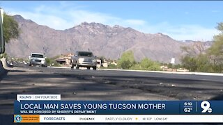 Tucson man saves a mother's life after witnessing car accident
