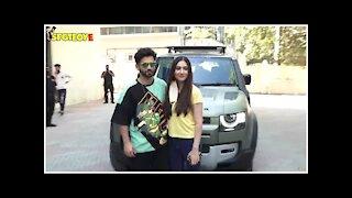 Rahul Vaidya & Disha Parmar Snapped At Croma
