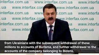 Ukraine Prosecutors Expose Biden's Criminal Activities (Full Version)