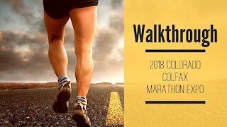2018 Colfax Marathon Expo walk through