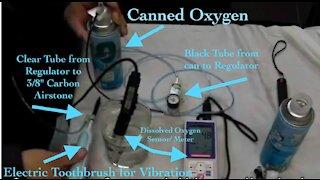 Nanobubble Carbon Based Airstone with Ultrasonic Stimulus
