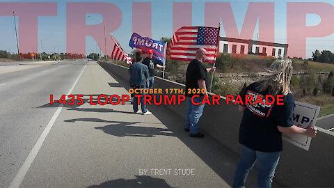I-435 Loop Trump Car Parade