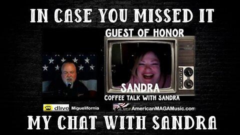 COFFETALK WITH SANDRA
