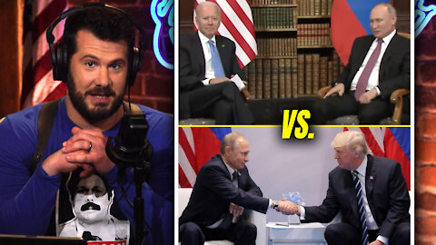 Biden's Body Language is WEAK and Pathetic!   Louder With Crowder