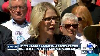 Denver mayoral candidates land big endorsements