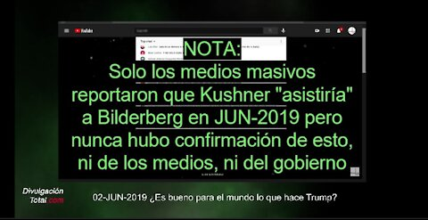 02-JUN-2019 Desde Hace Tiempo Dijimos: Verifiquen Fuentes