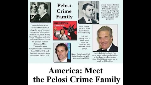 FBI EXPOSING the Pelosi Crime Family!!!