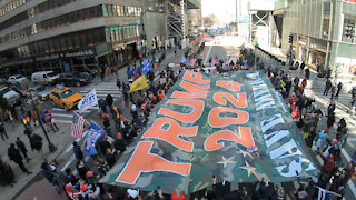 Operation Flag Drop: Trump 2024 rally