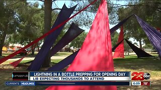 Lightning in a Bottle Prepping for opening day