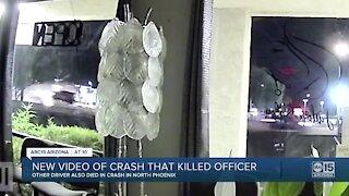 Surveillance video shows deadly crash involving Phoenix police officer