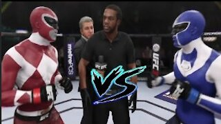 Maskman vs. Power Ranger I UFC EA Sports
