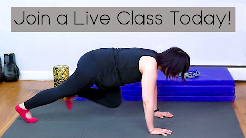 Take an Online Fitness Class at Home for Free