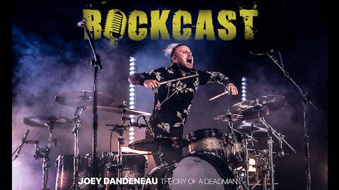 Joey Dandeneau - Drummer of THEORY Does A Mad Lib | ROCKCAST: Ep 7