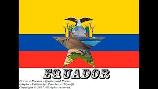 Bandeiras e fotos dos países do mundo: Equador [Frases e Poemas]