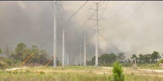I-95 reopens in Indian River County after 1,600-acre wildfire