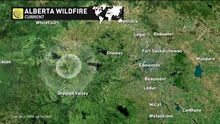 Evacuation orders for west of Edmonton as wildfire rages