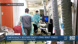 Valleywise doctor talks about long wait times in ERs