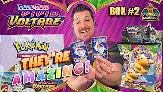 Vivid Voltage Booster Case (Box 2) | Pikachu Hunting | Pokemon Cards Opening