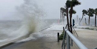 Tropical Storm Eta makes landfall on Florida coast