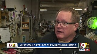 What could replace the Millennium Hotel?