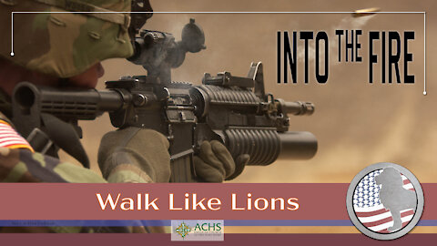 """""""Into the Fire"""" Walk Like Lions Christian Daily Devotion with Chappy May 5, 2021"""
