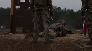 2021 Army Best Medic Weapons Qualification