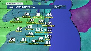 Thunderstorms likely Tuesday