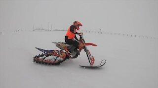 Snow bike races continue despite McCall Winter Carnival cancelation