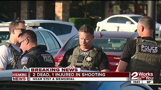 Two dead, one injured in shooting